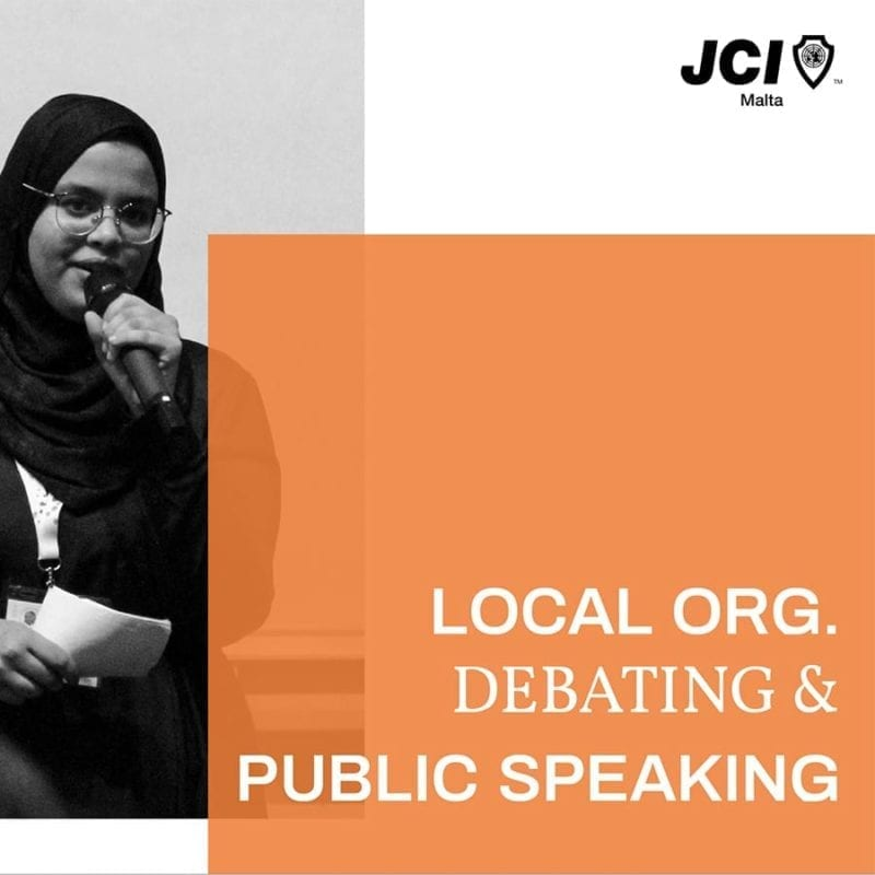 Local Organisation - Public Speaking &  Debating