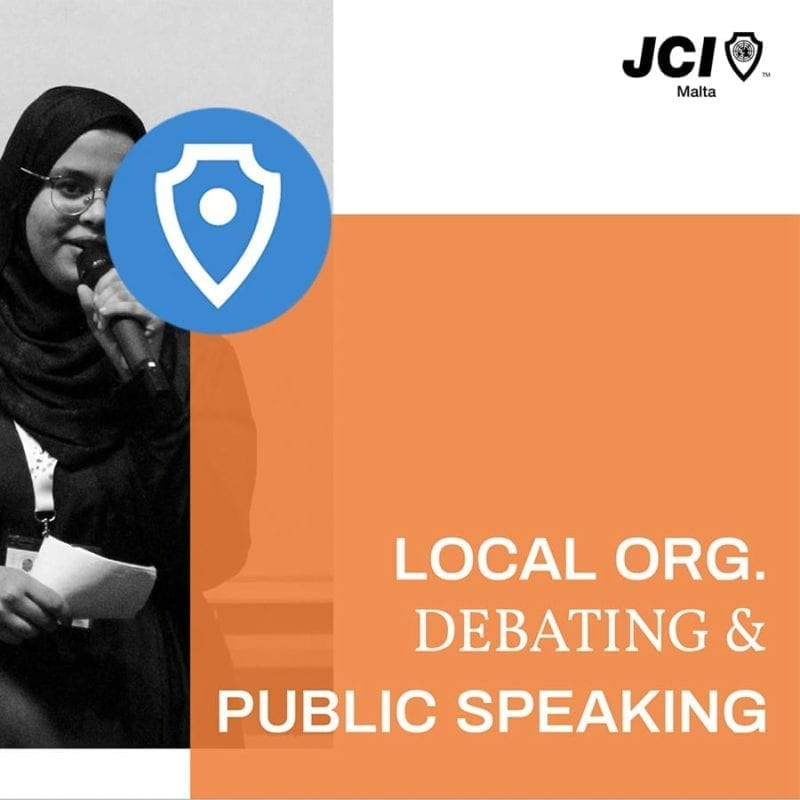 JCI Debating & Public Speaking Membership
